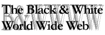 Black and White World Wide Web